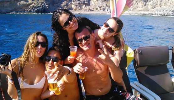 the mtv boat party staff Gran Canaria
